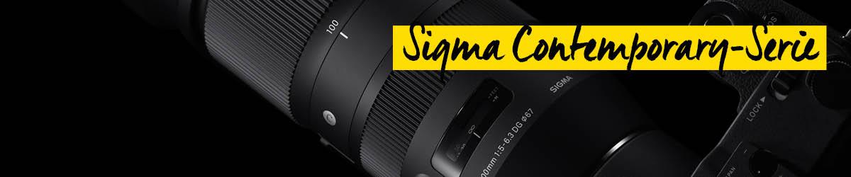 Sigma Contemporary Serie Objektive