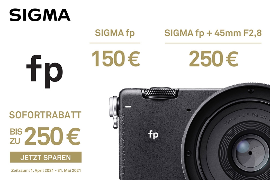 Sigma fp Sofortrabatt