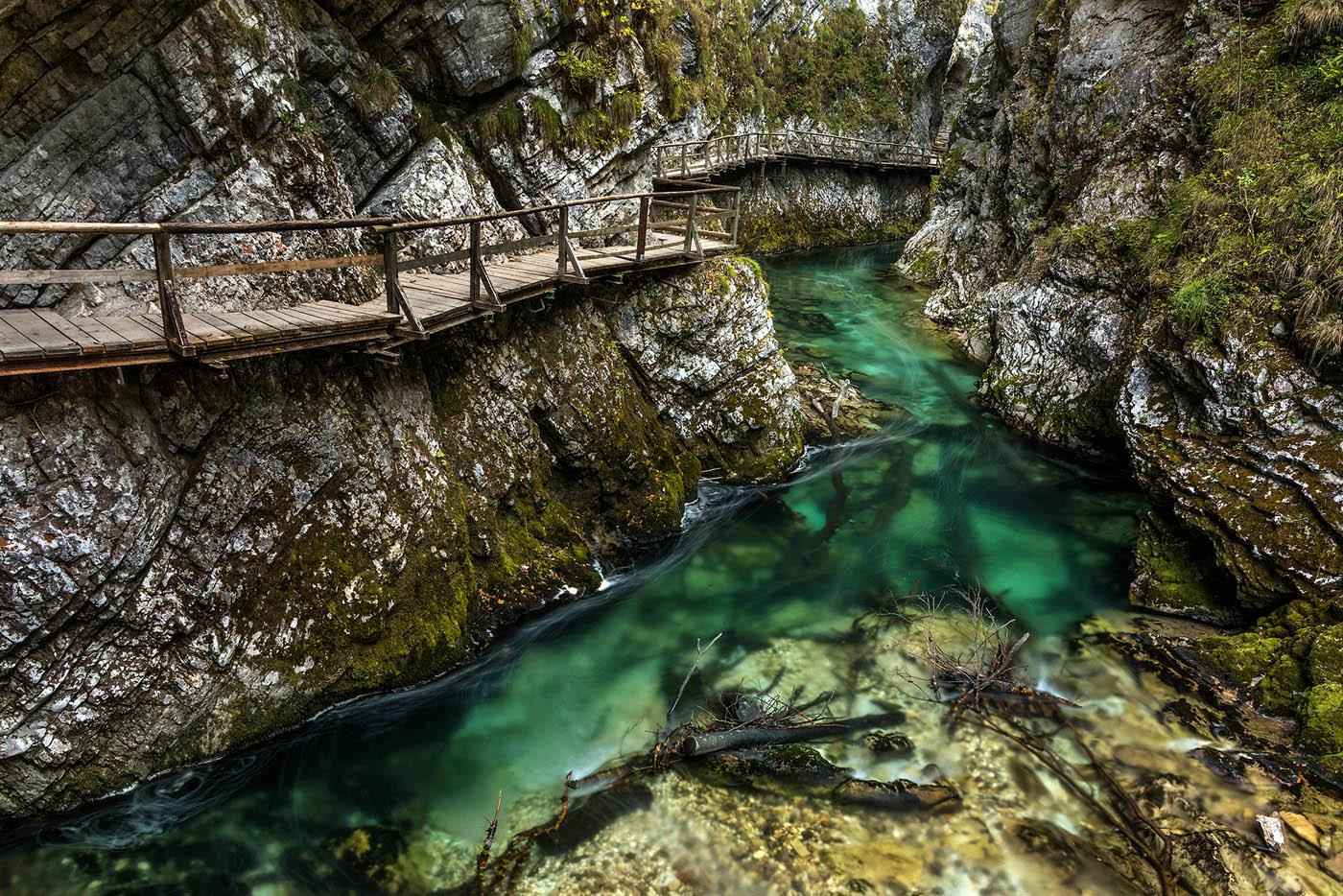 Slowenien - Vintgar Klamm