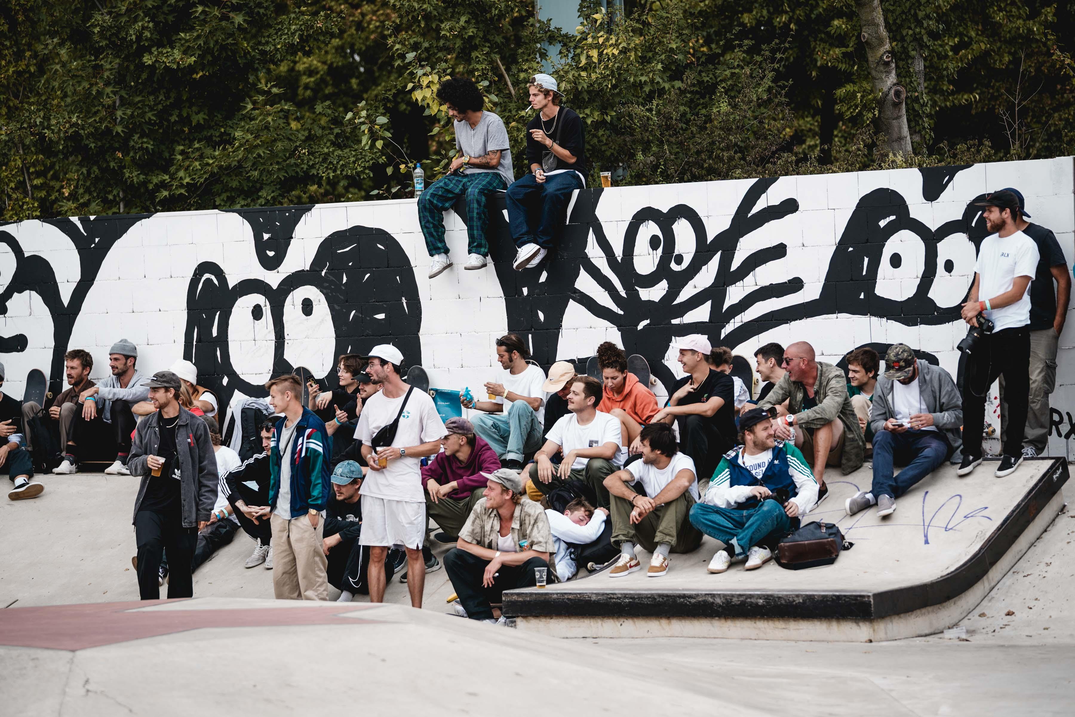 Skateboard Meisterschaft