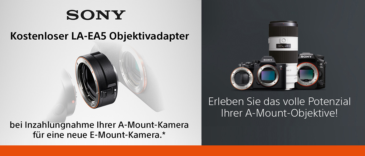 Sony Adapter Trade-in Aktion
