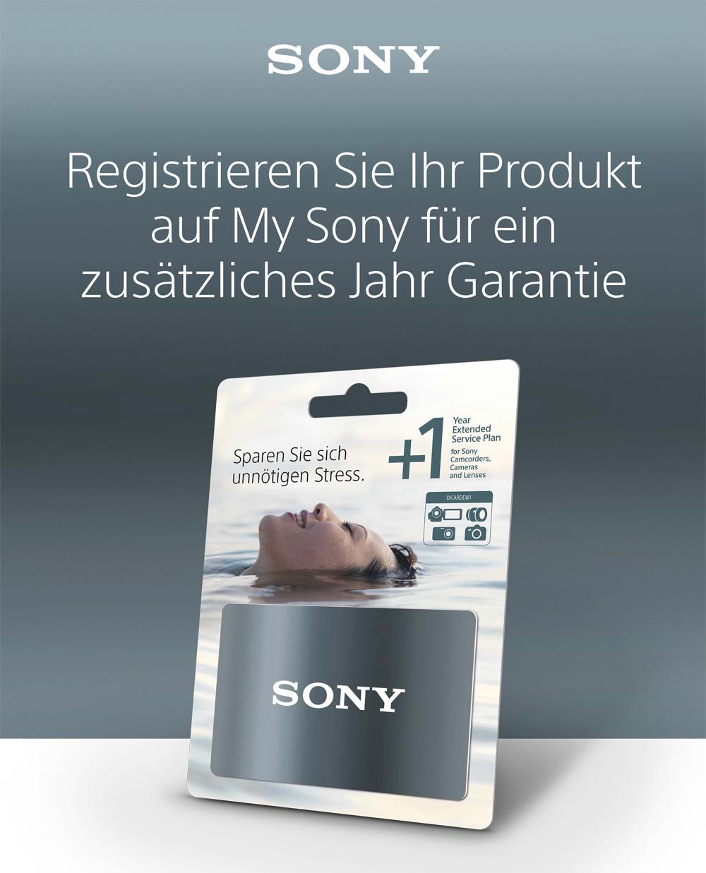 Sony Extended Warranty