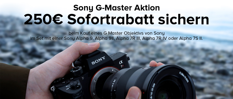 Sony G-Master Sofortrabatt Aktion