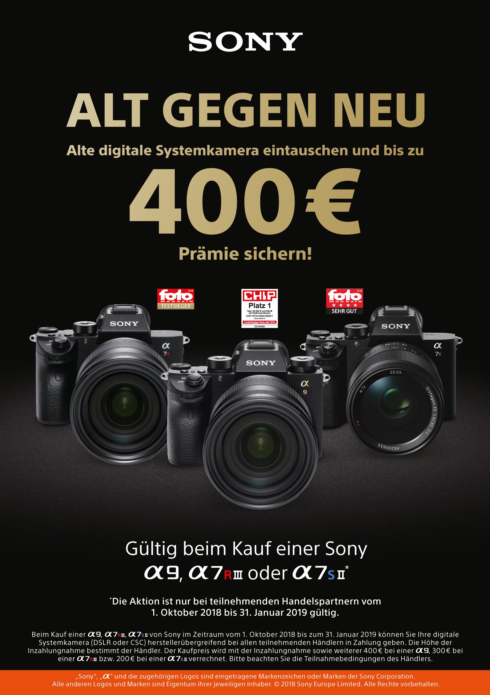 Alt gegen Neu Alpha Kameras