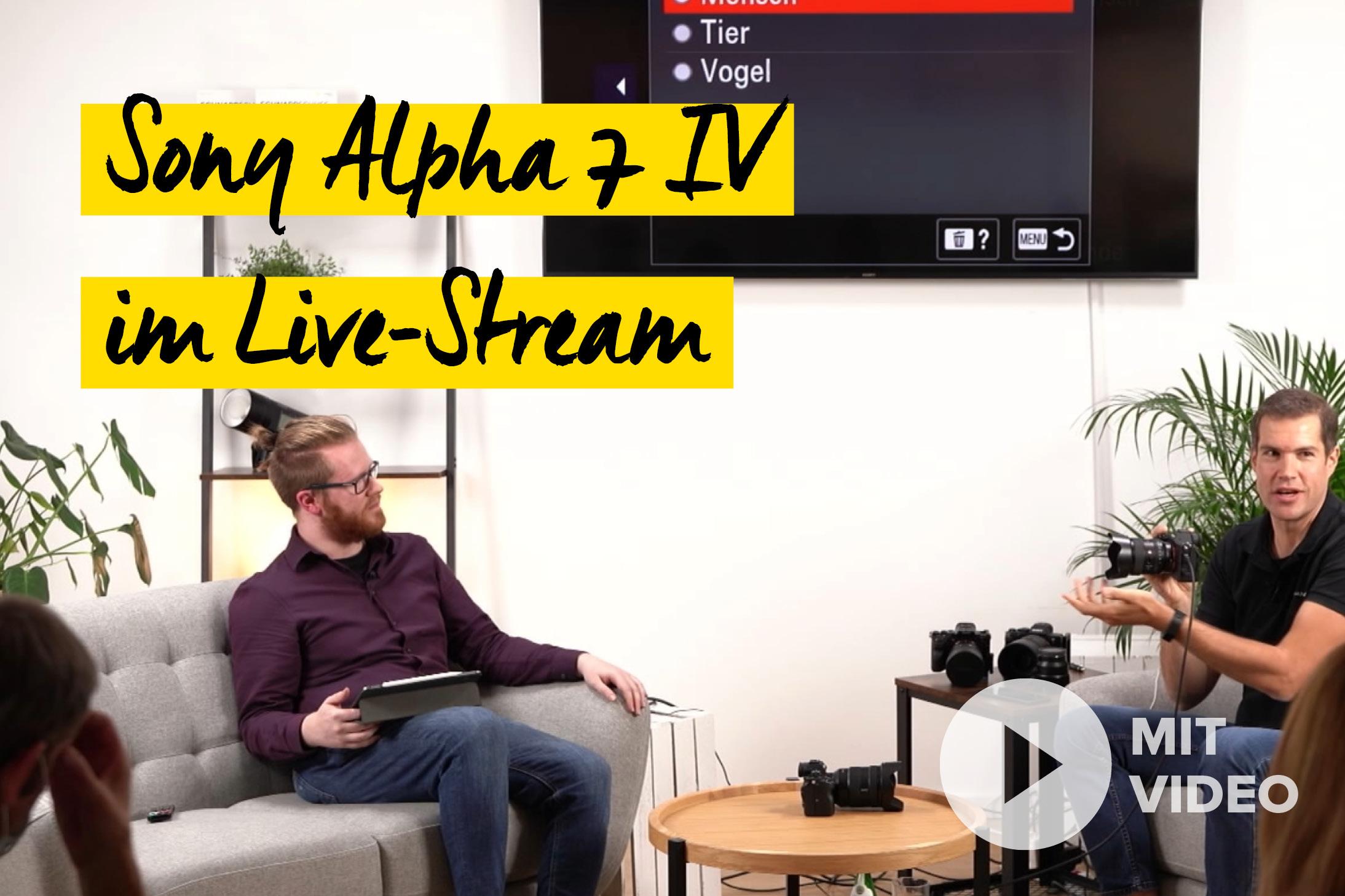 Sony Alpha 7 IV Neuheiten Event