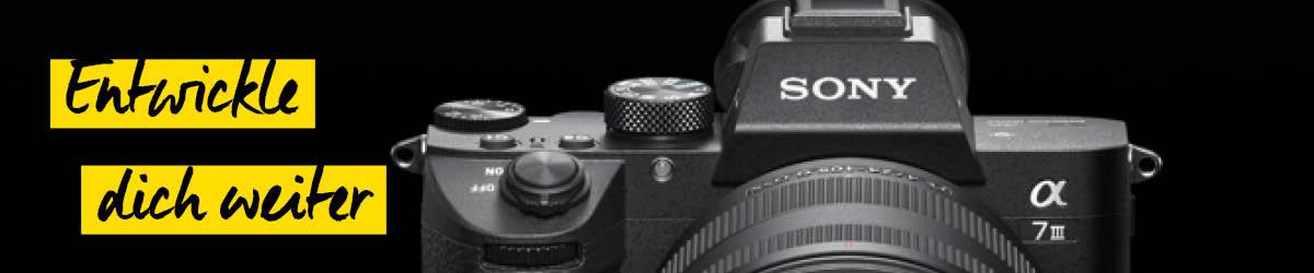 Sony Alpha 7III - Neuheiten Header