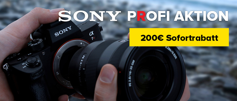 Sony Alpha 7R Profi Aktion