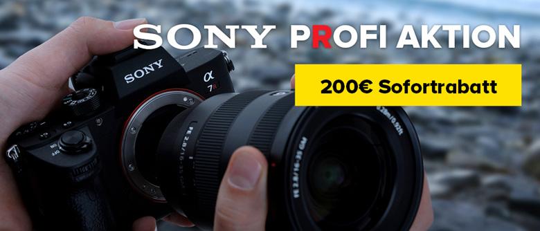 Sony Alpha 7R Profi Aktion