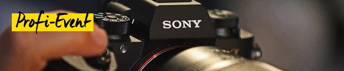 Sony Alpha 9 VIP-Abend