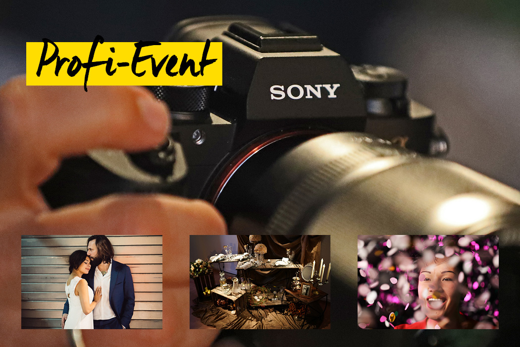 Sony VIP Abend mit Live Shooting