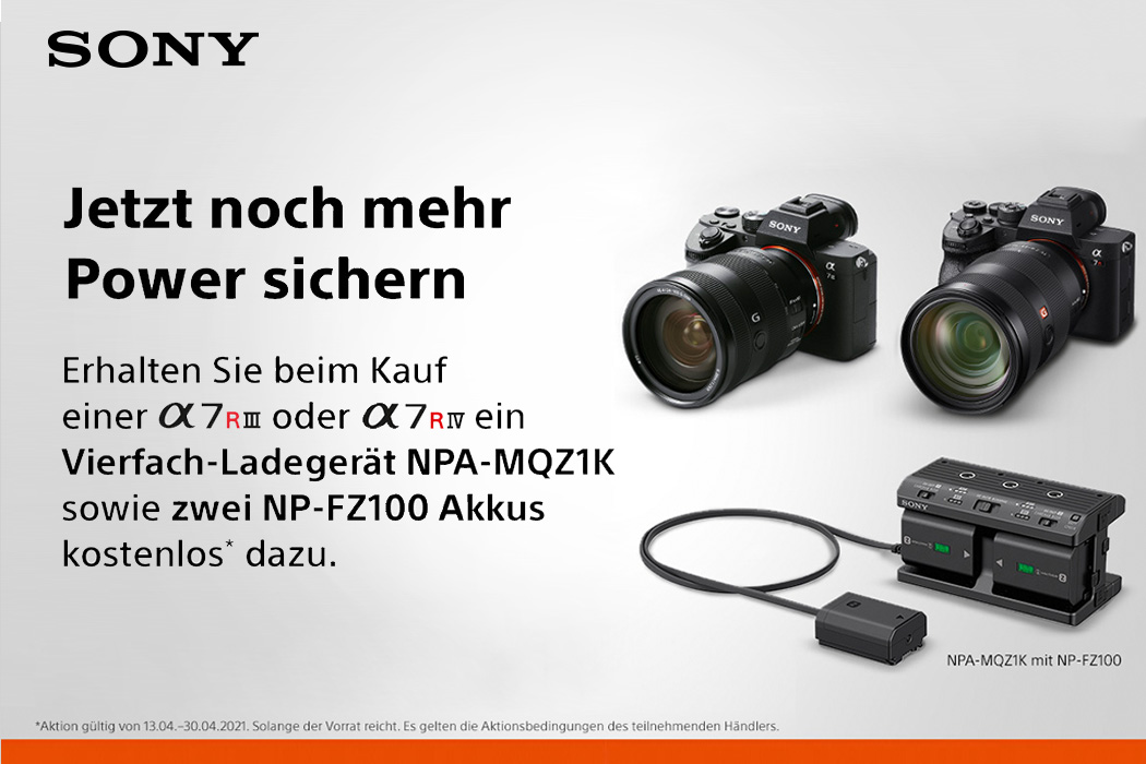 Sony Alpha Aktion