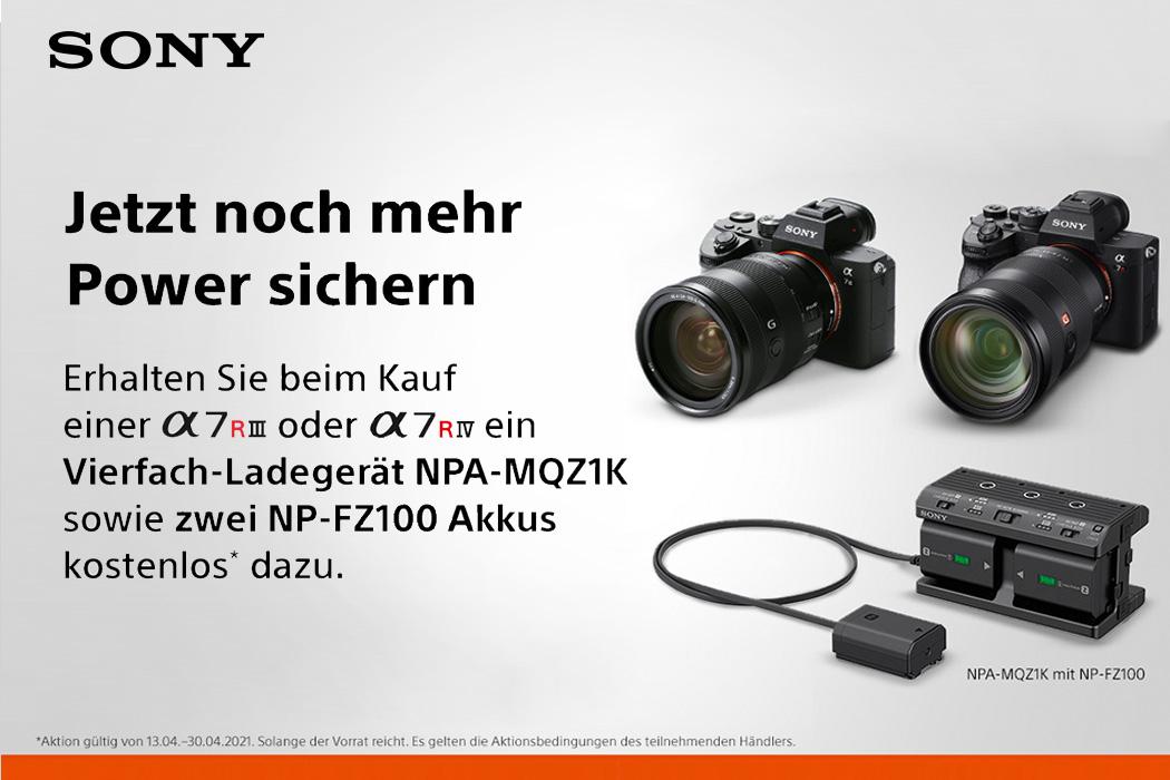 Sony Alpha Aktion
