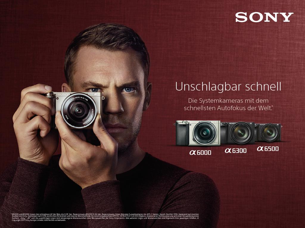 Sony Alpha 6000 / 6300 / 6500 APS-C Systemkameras Manuel Neuer