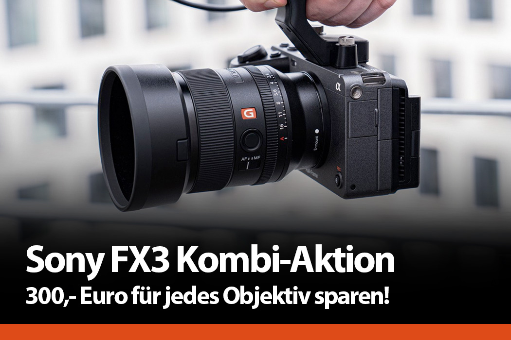 Sony Alpha FX3 Kombi-Aktion