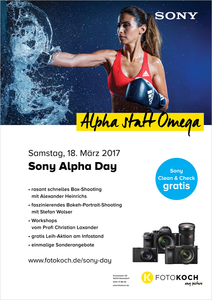 Sony Alpha Day Plakat