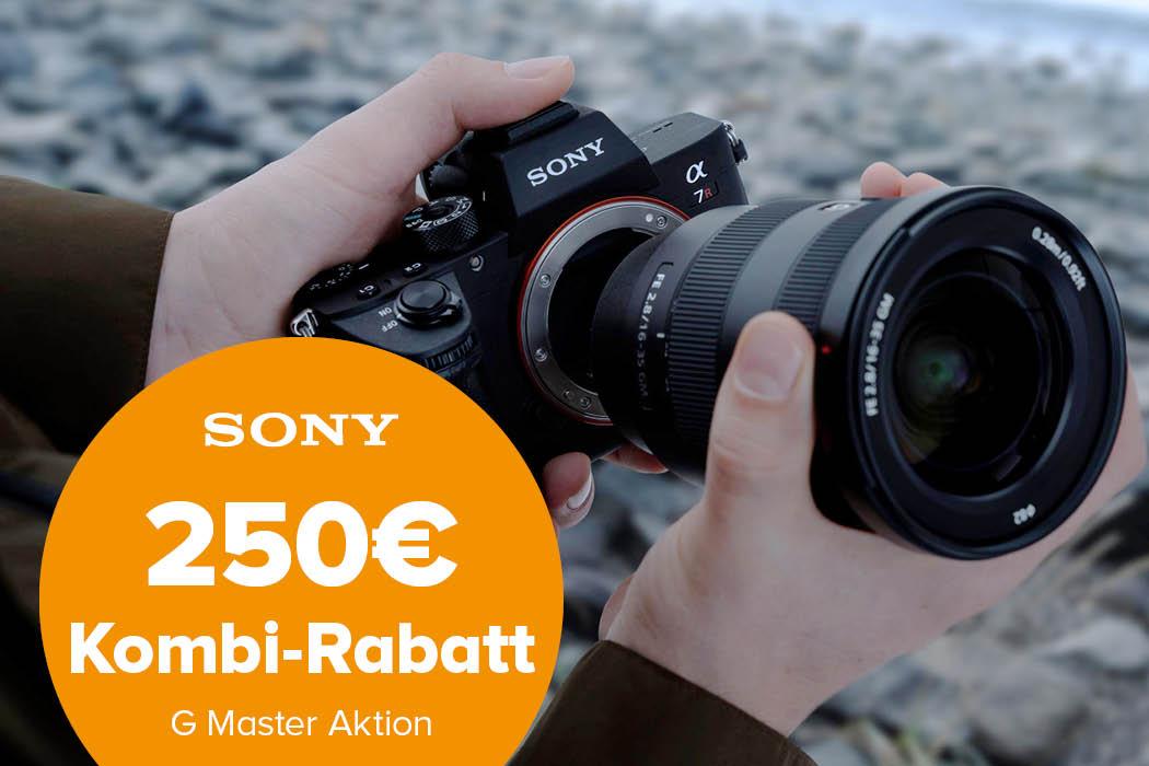 Sony G-Master Kombi-Rabatt Aktion