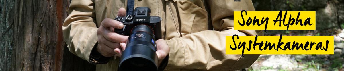 Sony Alpha Systemkameras