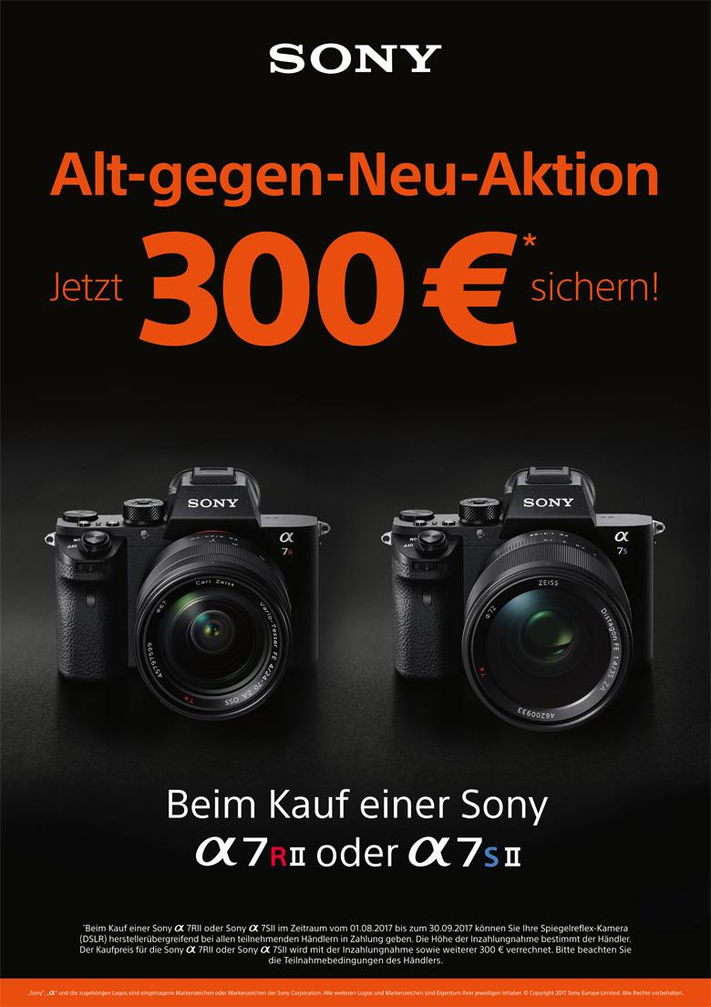 Sony Alt-gegen-Neu-Aktion
