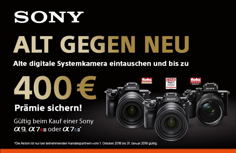 Sony Alt gegen Neu