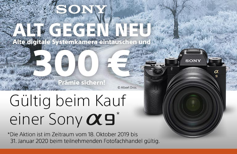 Sony Alpha 9 Alt gegen Neu