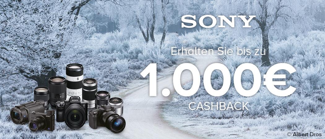 Sony Cashback Aktion