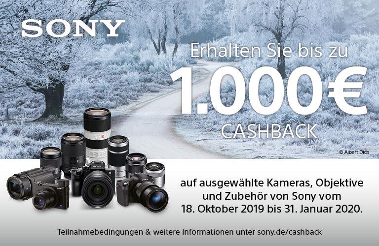 Sony Kamera Cashback
