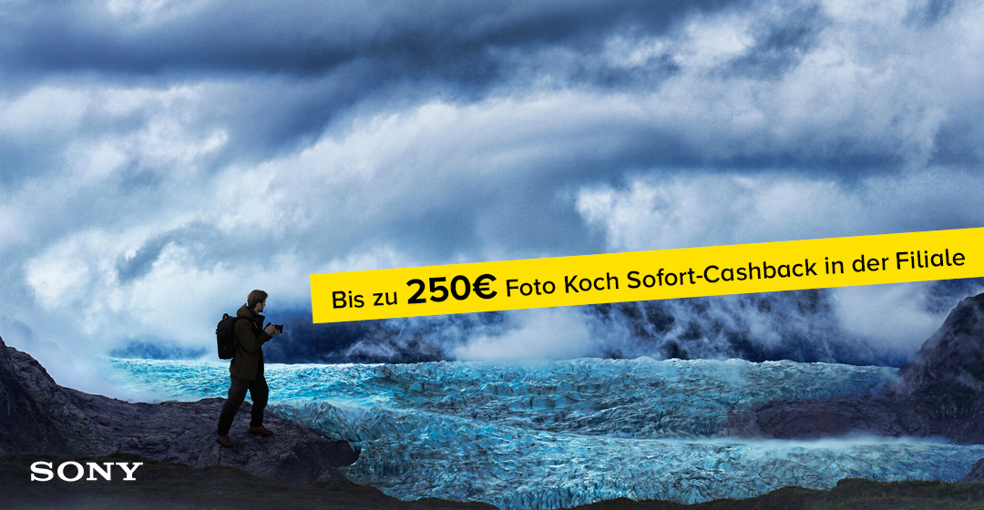 Foto Koch Sofort-Cashback für Sony Aktionsprodukte