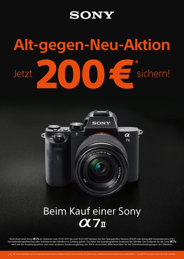 Sony Alpha 7 II Alt gegen Neu
