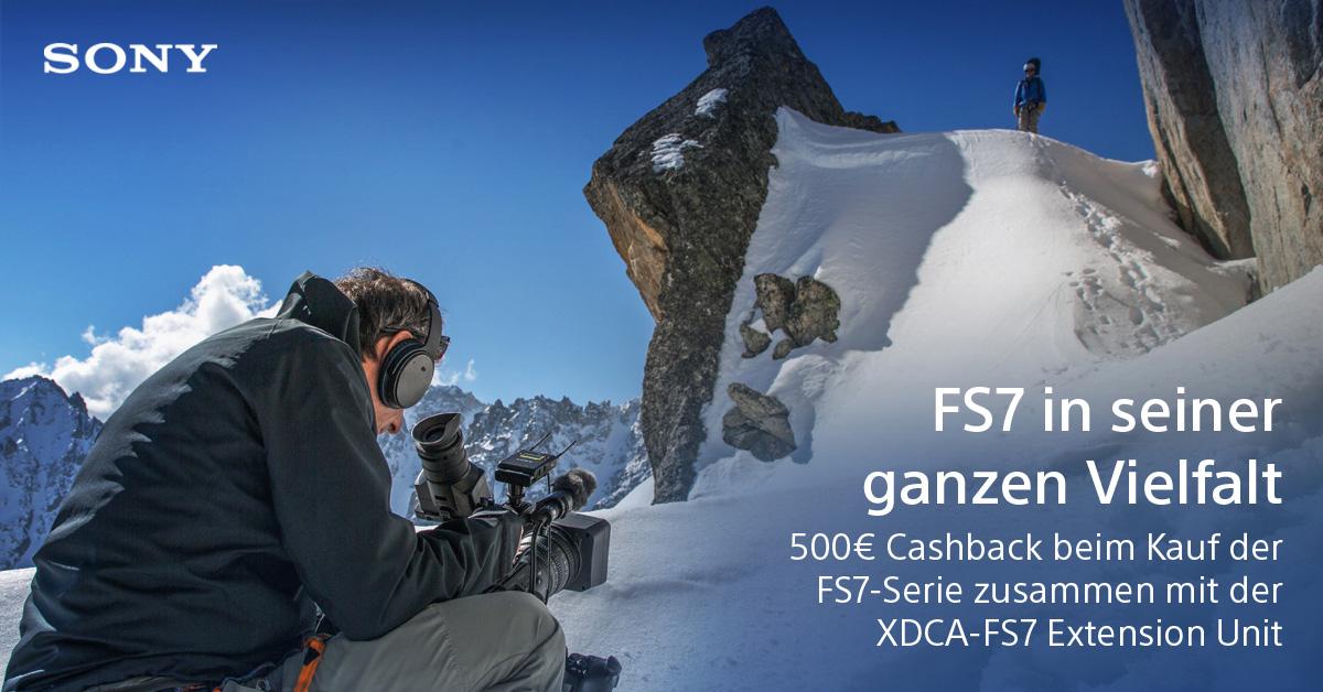 Sony Pro Video Cashback