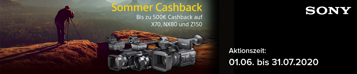 Sony Professional Video Cashback