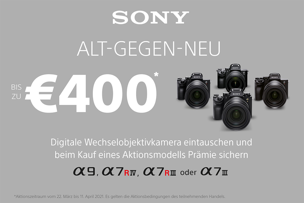Sony Oster Aktion
