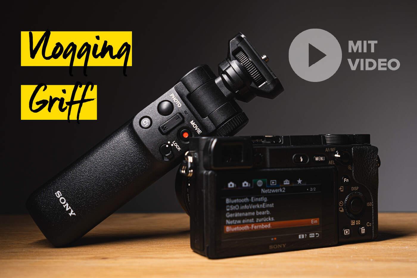 Sony Neuheit - Bluetooth Vlogging Griff