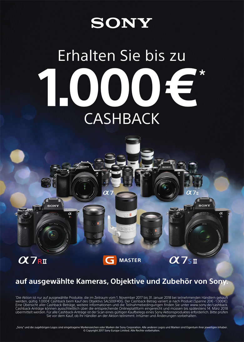Sony Winter Aktion CashBack