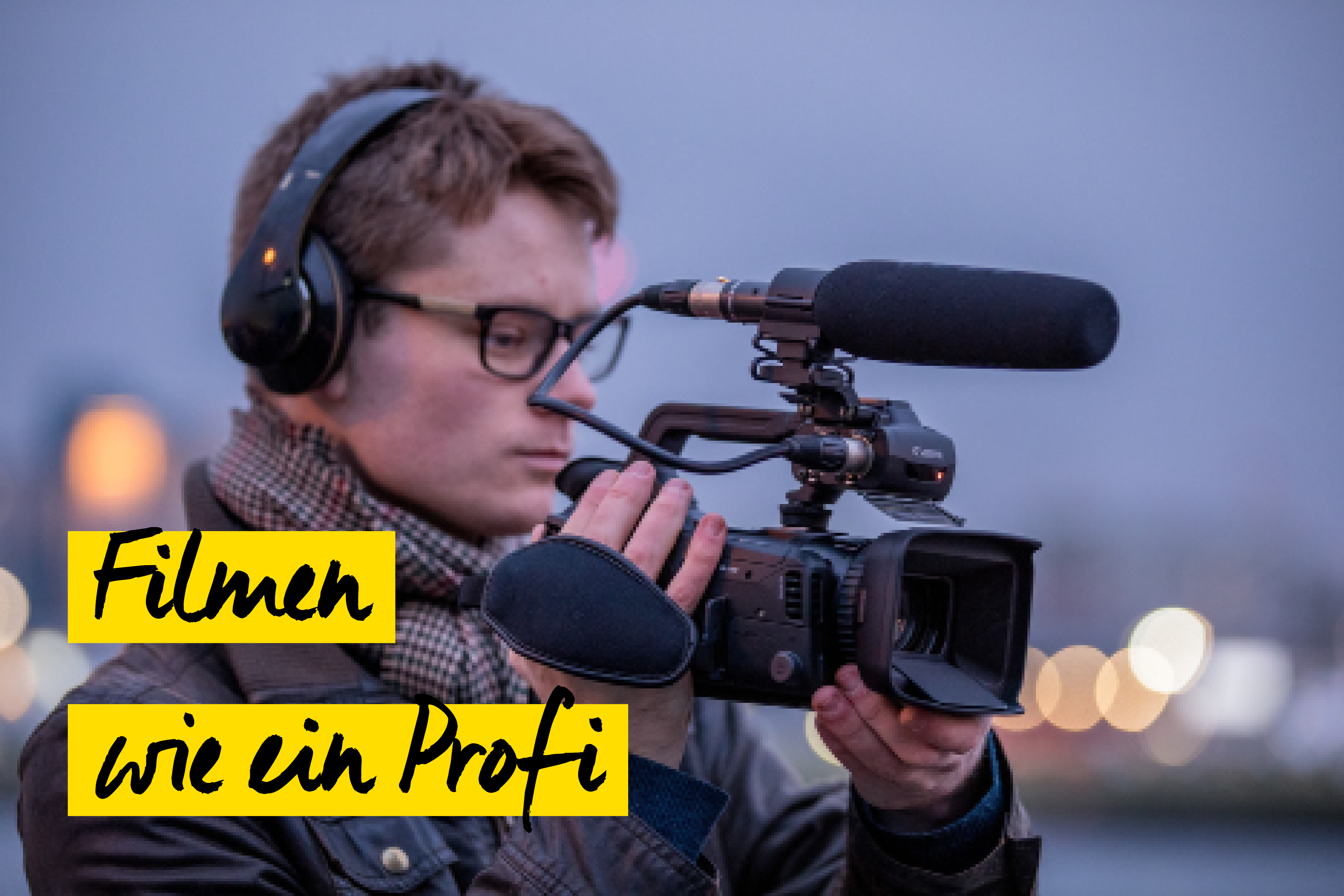Filmen mit Canon