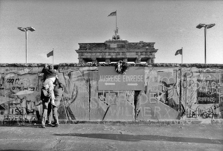 Berliner Mauer vor Brandenburger Tor