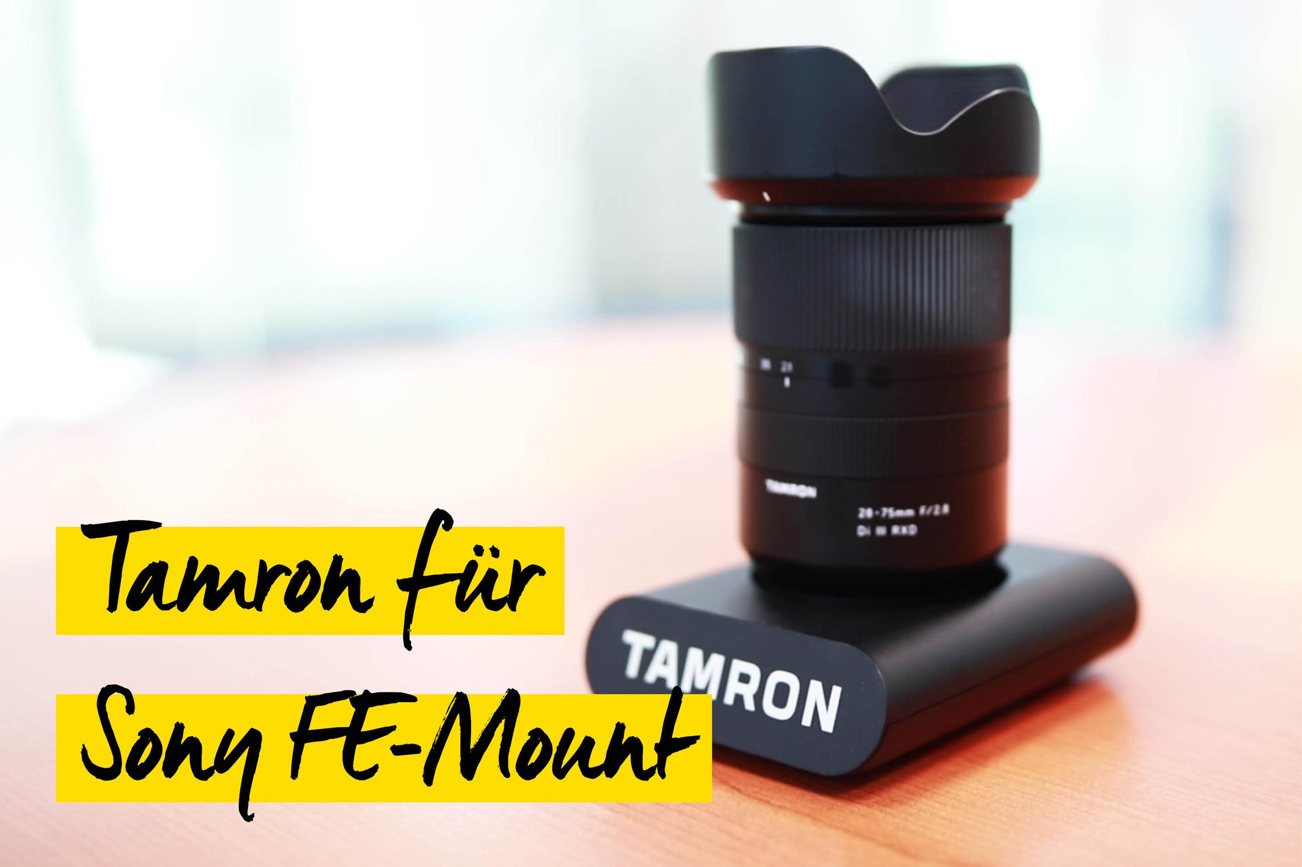 Tamron 28-75 Sony FE Mount