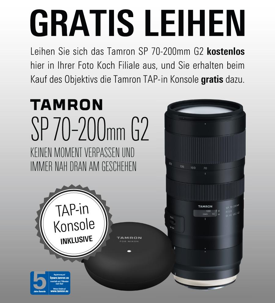 Tamron Leih-Aktion