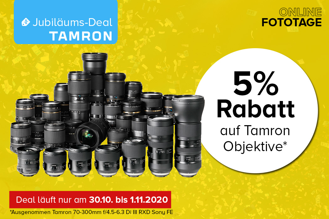 Tamron Jubiläums-Deal
