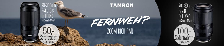 Tamron Fernweh Aktion