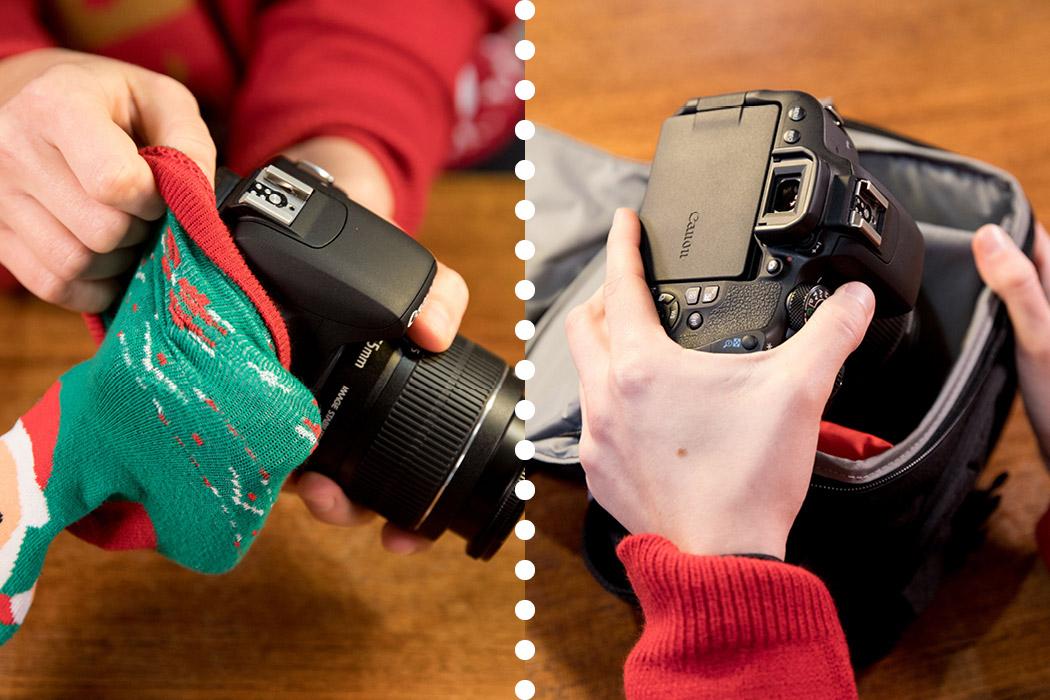 Geschenk Foto-Taschen - besser als Socken