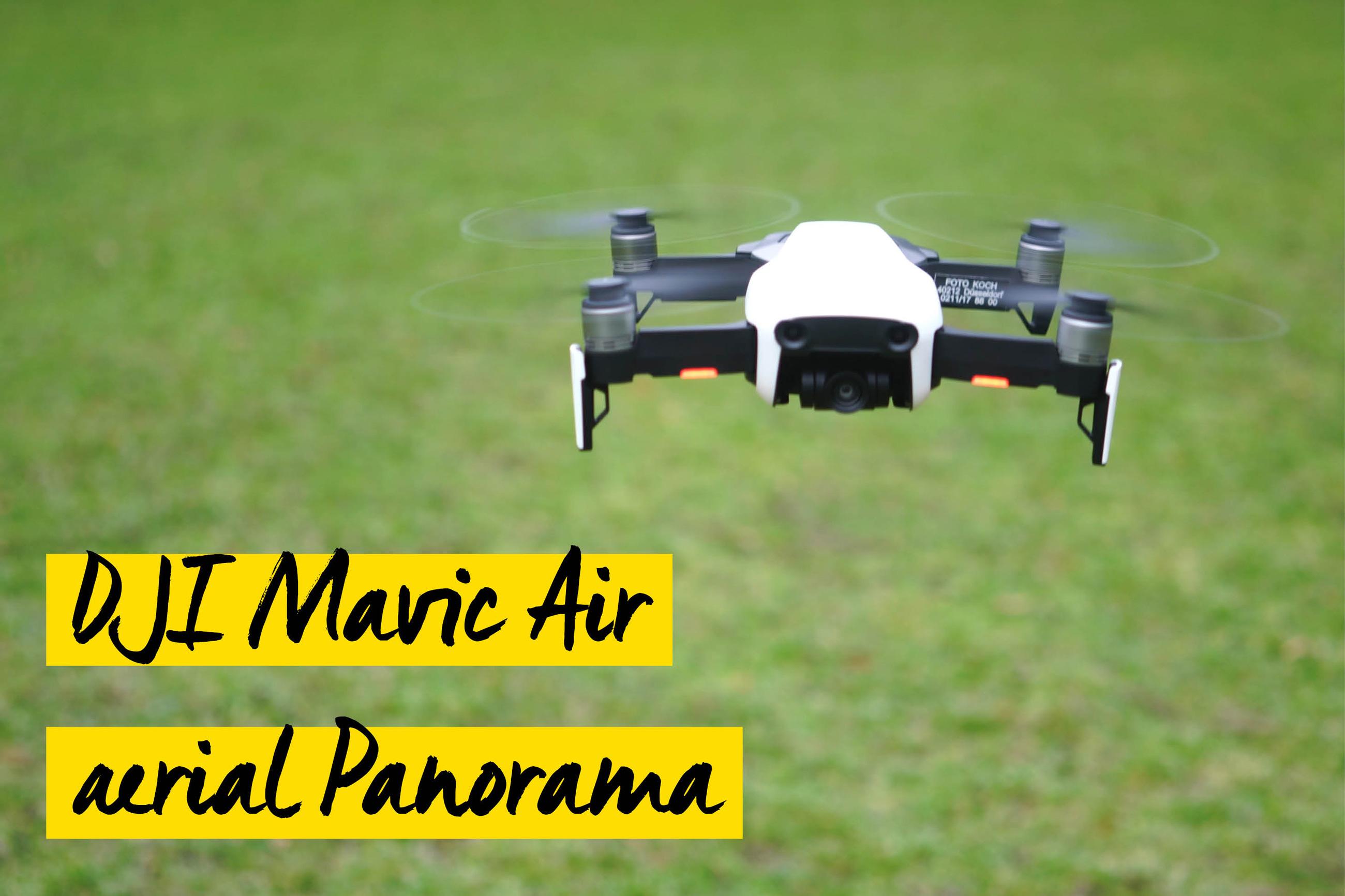 DJI Mavic Air - Panorama
