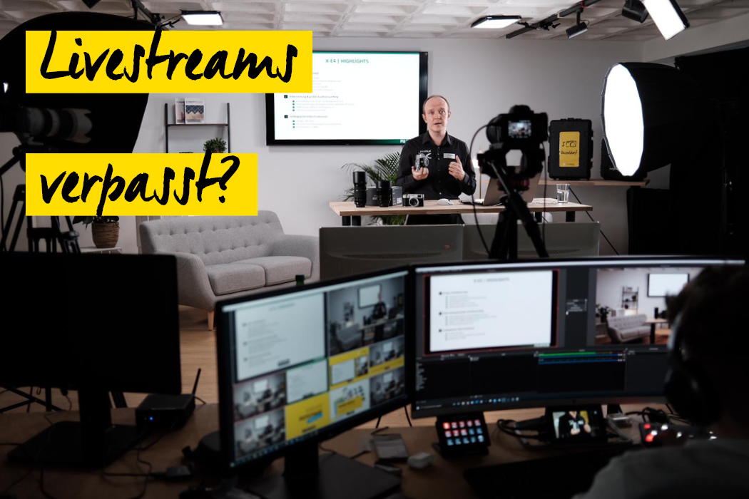 Livestreams Online Fototage