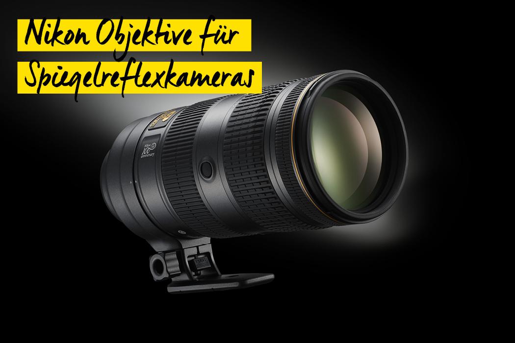 Nikon Objektive Spiegelreflexkameras