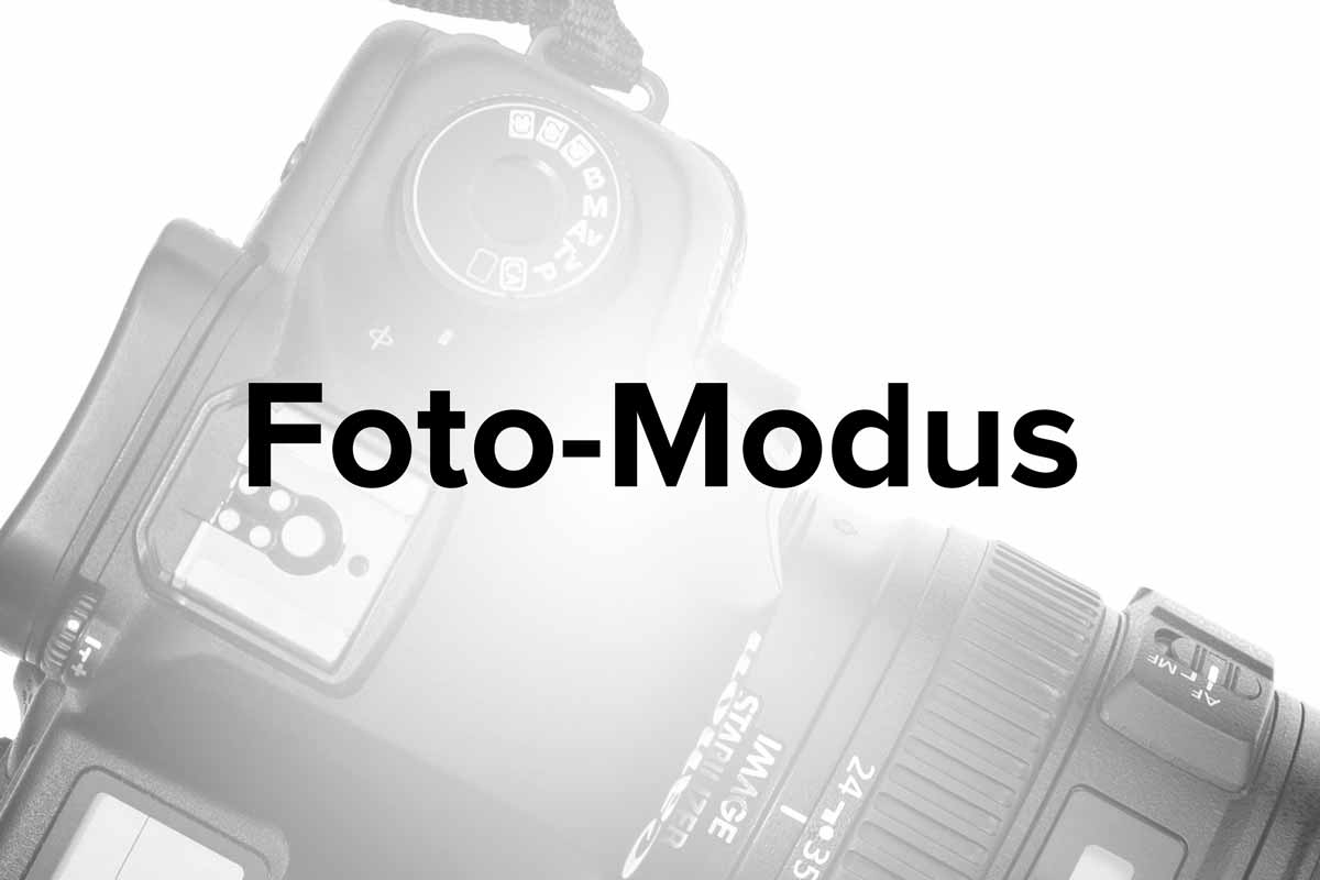 kamera lernen moduswahlrad