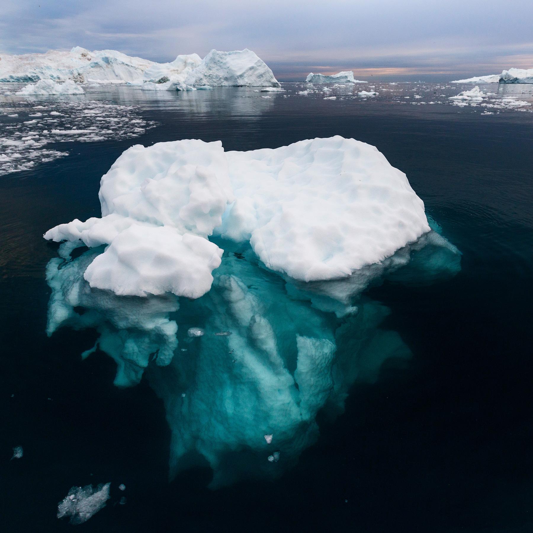 Grönland Eisberg