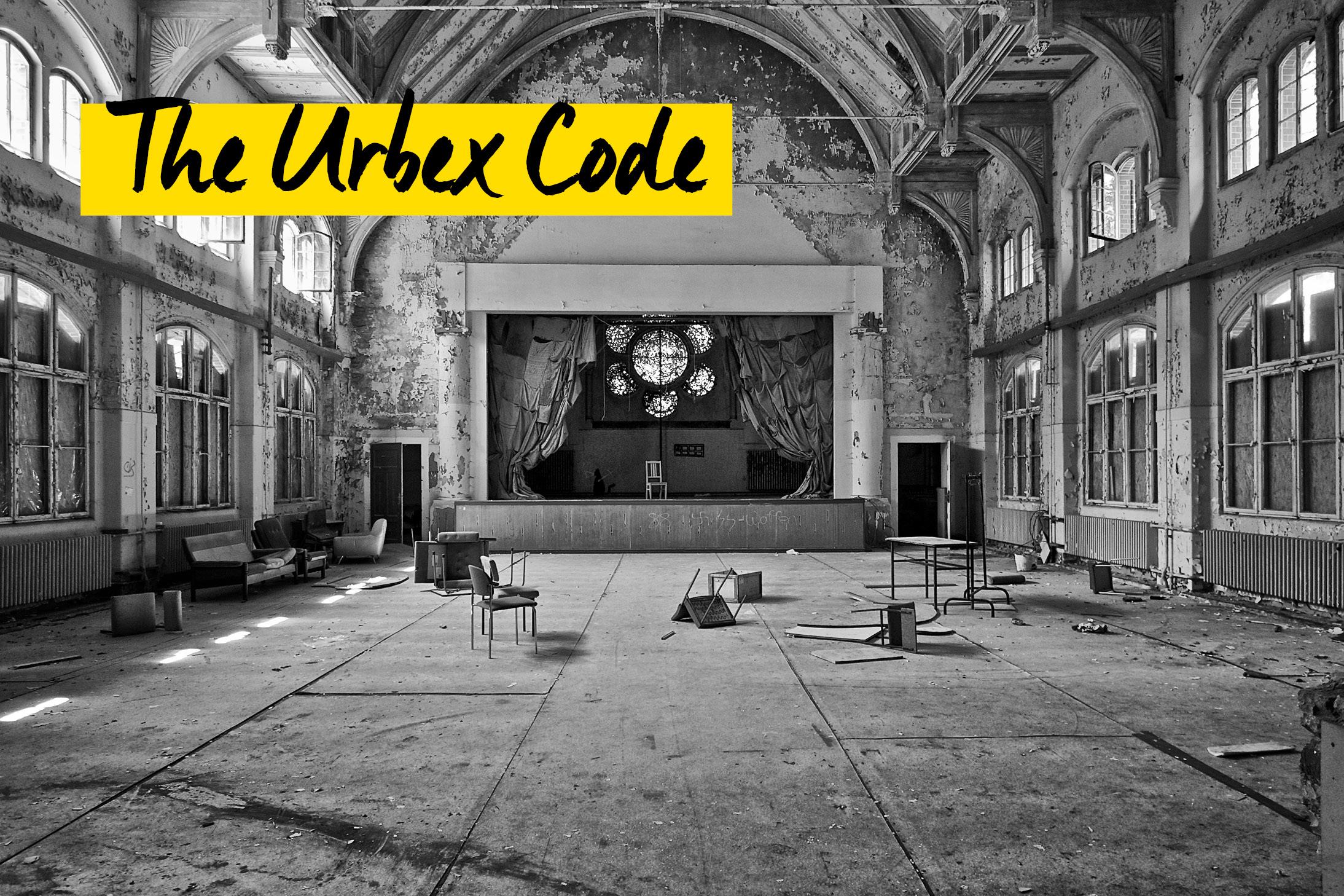 The Urbex Code - Marc Mielzarjewicz