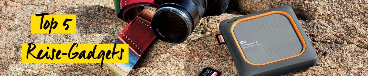 Top 5 Foto-Gadgets für die Reise