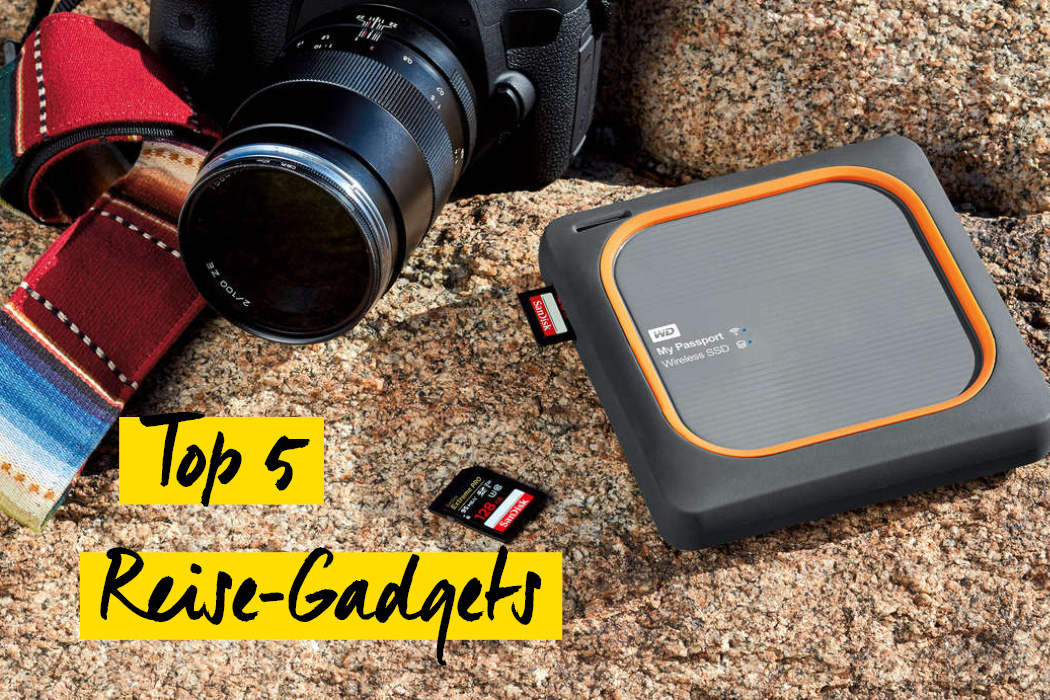 Top 5 Reise-Gadgets