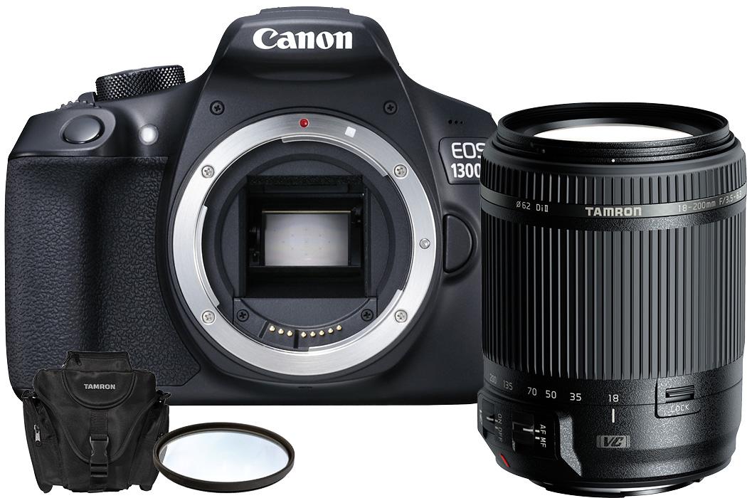 Top 5 Reisekameras Canon EOS 1300D inkl. Tamron 18-200