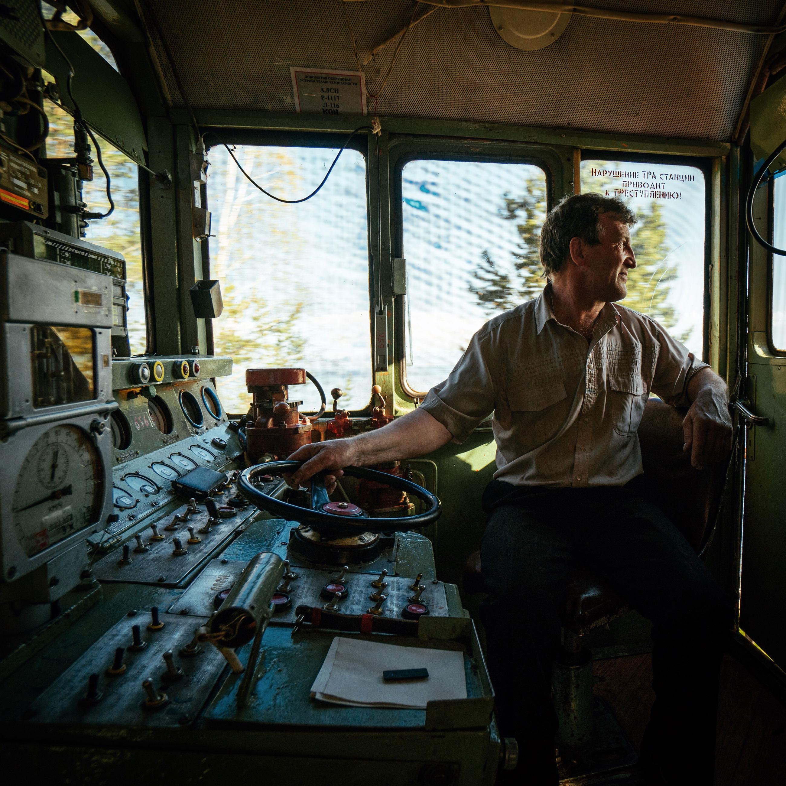 Transsibirische Eisenbahn Zugführer